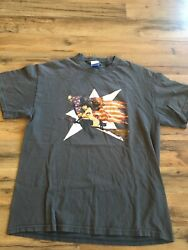 Vintage Rob Zombie American Witch Shirt Size Large Tennessee River Tag Rare