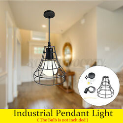 Industrial Pendant Light Iron Retro Ceiling Lights Hanging Lamp Dining Room