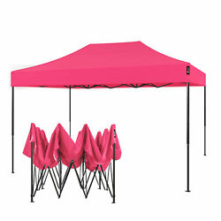American Phoenix 10x15 Ft Green Pop Up Canopy Tent Portable Commercial Instant