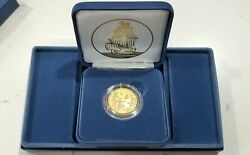 2020 Mayflower 400th Anniversary Gold Reverse Proof Coin 20xc Treasury Us Mint
