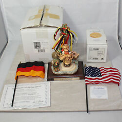 Hummel 2004 Signed And Scape 1011-d 'd 842/950 Excl Ed Gold Oktoberfest Mib