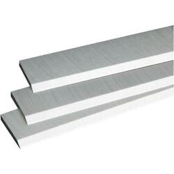 16 - 21/32 X 1 - 3/8 Jointer Knives 1/8 High Speed Steel Delta 1 Each 165431