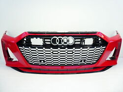 Audi Rs7 2019-on Front Bumper Whit Grill Genuine 4k8 807 437 J
