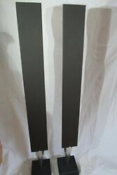 Bang And Olufsen Bando Beolab 8000 Speakers With Brand New Grey Grills - Guaranteed