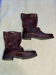 Frye Veronica Short Leather Boots size 8 $75.00