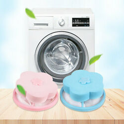 Lot Laundry Filter Bag Floating Pet Lint Hair Catcher Washing Machine Mesh Pouch