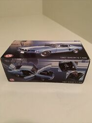 Diecsast 1/18 Gmp/acme Shelby Mustang 1967 Gt500 Brittany Blue Metallic