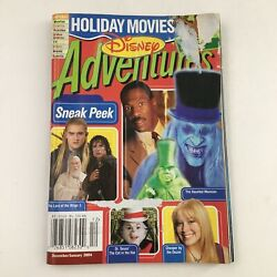 Disney Adventures Magazine December 2004 Lord Of The Rings 3 And Haunted Mansion