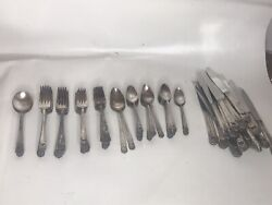 1847 Rogers Eternally Yours Silverplated Flatware Set Of 82 Pieces