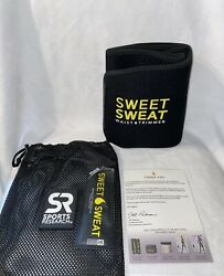 Sweet Sweat waist trimmer SMALL for Men amp; Woman. Includes Sample Of Sweat Gel $19.90
