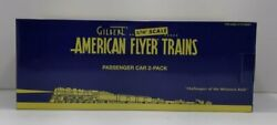 American Flyer 6-47918 S Southern Pacific Streamliner Combo And Observation Cars
