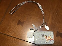Nwt Vera Bradley Best In Show Zip Id Case And Lanyard Set Puppy Dog Limited Ed.