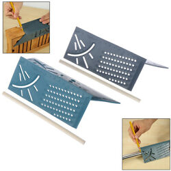 Woodworking 3d 90degrees Square Gauge Angle Protractor Over T-type Ruler Angf`yk