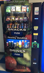 Hy2100 Seaga Healthy You Vending Machines For Sale - New 12-2019- 4 Machines.