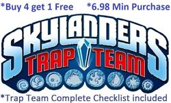 Skylanders Trap Team Complete Ur Set W Checklist Buy 4 = 1free6.98 Minimum👾