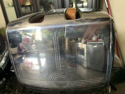 Sunbeam T20-a Classic 1951 Vintage Toaster Tested - Works Well - Scratched Top