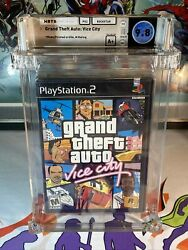 Grand Theft Auto Vice City Wata 9.8 A+ Sealed 1st Print Security Seal Deep Badge
