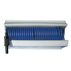 P-0443 Whitecap 25and039 Blue Coiled Hose W/mounting Case