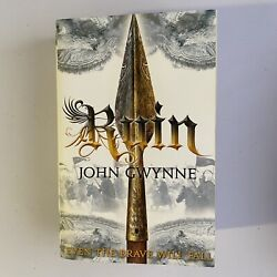 Ruin The Faithful And The Fallen Book 3 By John Gwynne Softcover Book