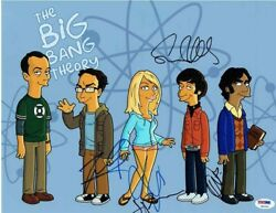 The Big Bang Theory Cast Autographed Signed 11x14 Photo Authentic Psa/dna Coa