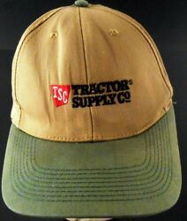 Tractor Supply Company Well Worn Faded Naturally Distressed Snapback Cap Hat
