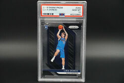 Psa 10 Luka Doncic Rookie 2018 Panini Prizm Basketball Rc 280 Gem Mint