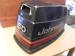 Johnson Evinrude 1980and039s 1990and039s Top Hood Cowl Cowling 50 60 70 Hp Outboard Cover