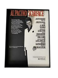 Scarface 3-d Movie Poster Sculpture Code 3 Limited Edition Collectibles