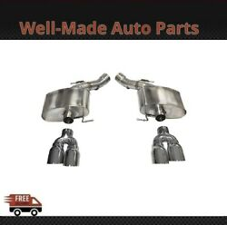Corsa 304 Ss Axle-back Exhaust System Quad Rear Exit For 13-16 Bmw M5 14934