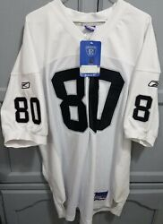 Jerry Rice Autographed Oakland Raiders Reebok Authentic Jersey Sz 52 2xl Nwt