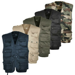 Gilet Reporter Militaire Paintball Airsoft Armee Opex Para