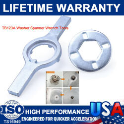 New Tb123a Washer Spanner Wrench Tub Nut For Maytag Whirlpool Ge Wx5x1325 Tb123b