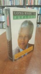 Signed 1st Sa Ed Long Walk To Freedom The Autobiography Of Nelson Mandela