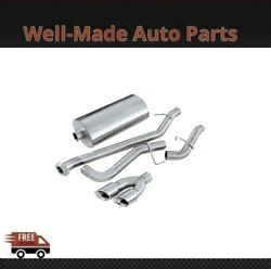 Corsa Cat-back Exhaust System With Dual Side Exit For Chevy/gmc 304 Ss 14260