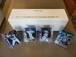 2020 Topps Complete Foilboard Set /264 Entire 700 Card Collection.