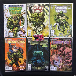Swamp Thing New 52 2011 5th Series 0,1-40 Complete Run And Annual 1-3