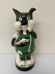 Antique Ceramic Thom Cat Bank Very Rare /sold As-is