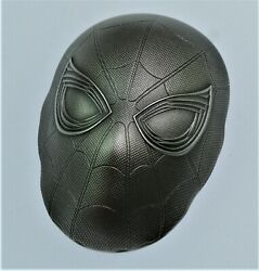 Amazing 2019 2 Oz .999 Silver Spiderman Mask Avengers 3d Coin W/ Coa And Ogp