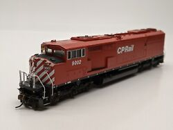 Overland Omi-5155 Brass Ho Sd40-2f Wide Cab - Painted/weathered - Cp Rail 9002