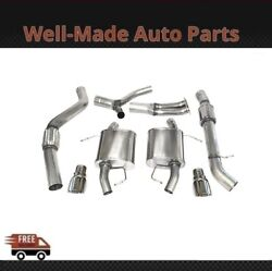 Corsa 304ss Cat-back Exhaust System Split Rear Exit For 07-12 Bmw 3-series 14861