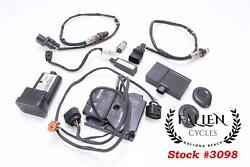 2007 Harley-davidson Electra Glide Thundermax Ecu Ecm And Full Security Set Paired