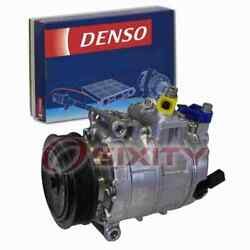 Denso Ac Compressor For 2012-2013 Volkswagen Golf Heating Air Conditioning Ea