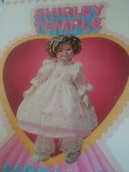 Vintage Shirley Temple Limited Edition Porcelain Doll Ideal 16 1982 With Box