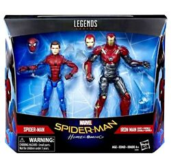 New Marvel Legends Homecoming Spider-man And Sentry Iron Man 2-pack Figure Hasbro