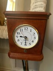 Seth Thomas Mantle Clock For Parts- Might Be An East Fix Unsure - Made In Taiwan