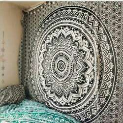 150*130CM Indian Hippie Mandala Wall Hanging Tapestry Throw Bohemian Bedspread
