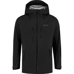 Cortazu Mountain Hard Shell Mens Jacket Waterproof - Black All Sizes
