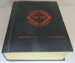 Vintage Richards And Conover Rich-con Hardware Salesman Catalog 2510 Pages