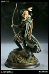 Sideshow Exclusive Lord Of The Rings Legolas Figure Statue Lotr Orlando Bloom..