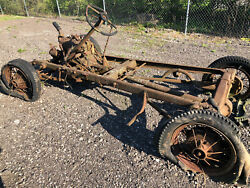 1930 31 Model A Ford Rolling Chassis W/enginetransaxles Matching Numbers